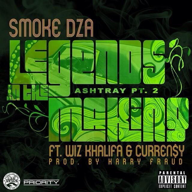 Smoke DZA Ft. Curren$y & Wiz Khalifa – Legends In The Making