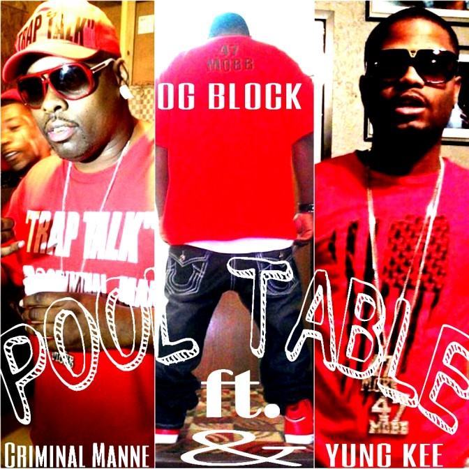 OG Block Ft. Criminal Manne – Pool Table