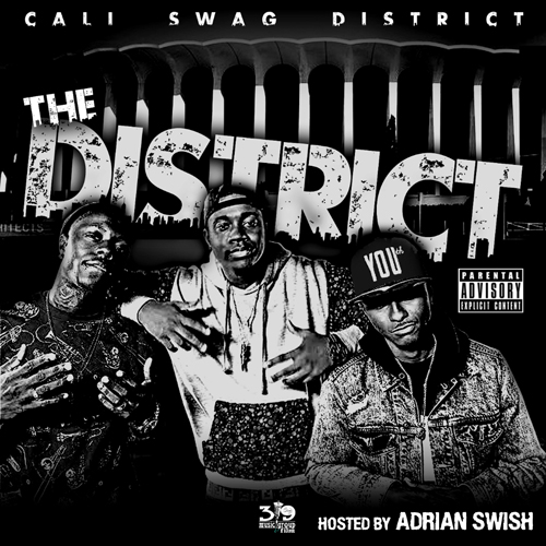 Cali Swag District Ft. Waka Flocka, Skeme, YG Hootie & AD – We Out Here