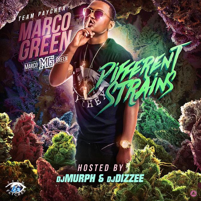 TPC Marco Green – Different Strains [Mixtape]