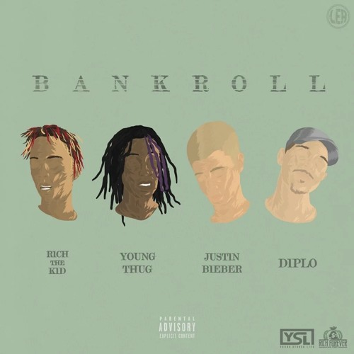 Diplo Ft. Rich The Kid, Young Thug & Justin Bieber – Bankroll