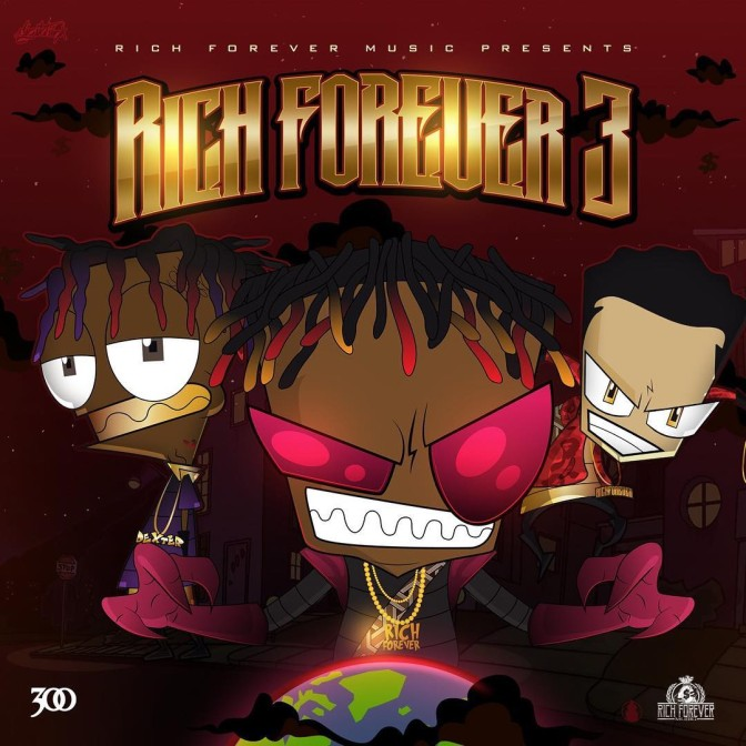 Rich The Kid, Famous Dex & Jay Critch – Rich Forever 3 [Album Stream]