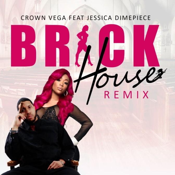 Crown Vega Ft. Jessica Dime – Brick House (Remix)