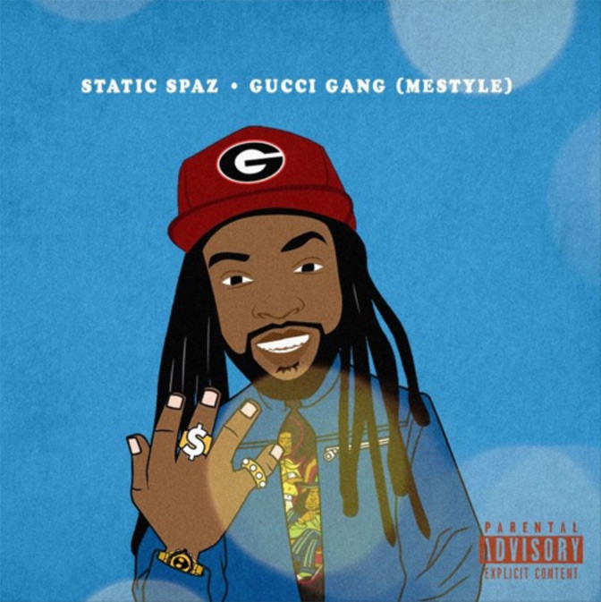 Static Spaz – Gucci Gang (Freestyle)