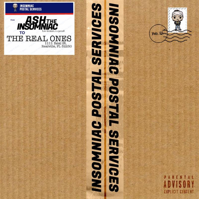 Ash The Insomniac – Real Ones [EP Stream]