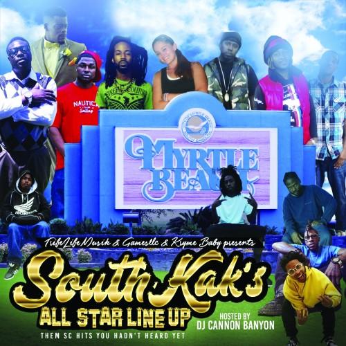 DJ Cannon Banyon – South Kak's All Star Line Up [Mixtape]