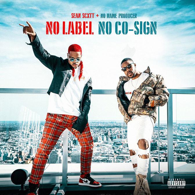 Sean Scott & NoNameProducer – No Label No Co-Sign [EP Stream]