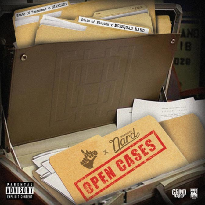 Starlito & MobSquad Nard – Open Cases [EP Stream]