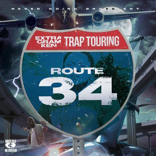Extra Gram Ken – Trap Touring: Route 34 [Mixtape]