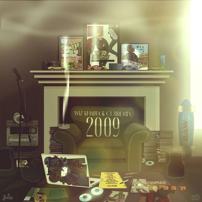 Wiz Khalifa & Curren$y – 2009 [Album Stream]